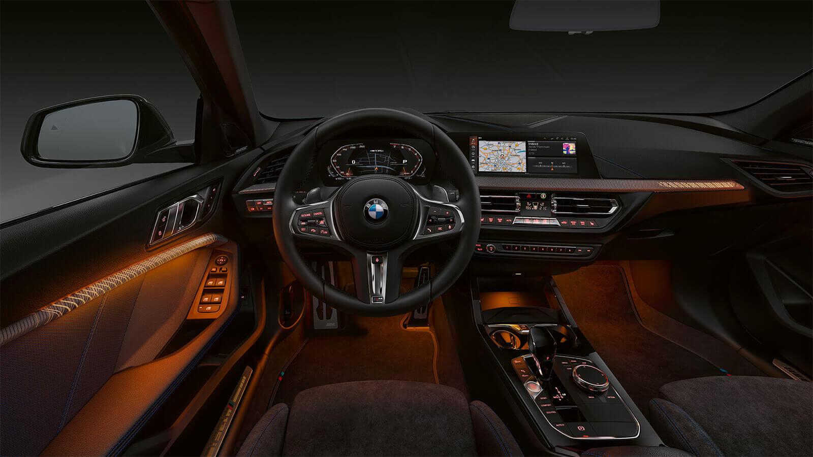 BMW interior lighting