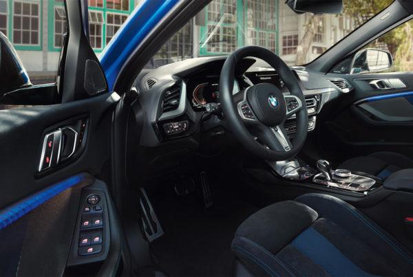 bmw design intérieur automobile