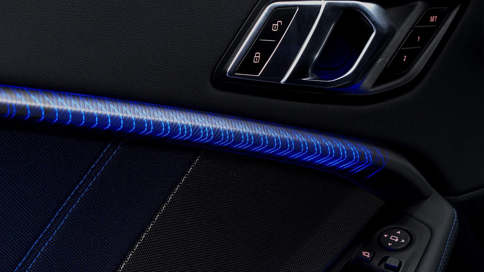 graphisme lumineux design automobile
