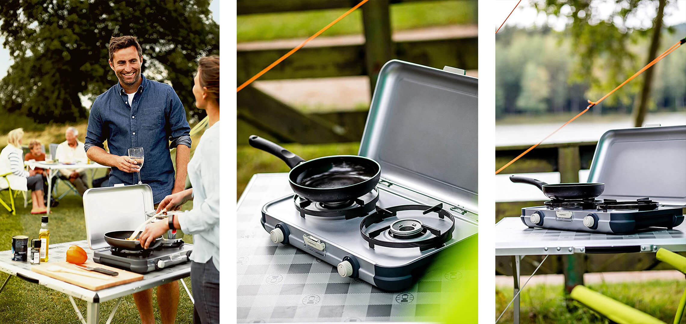 photos lifestyle réchaud camping