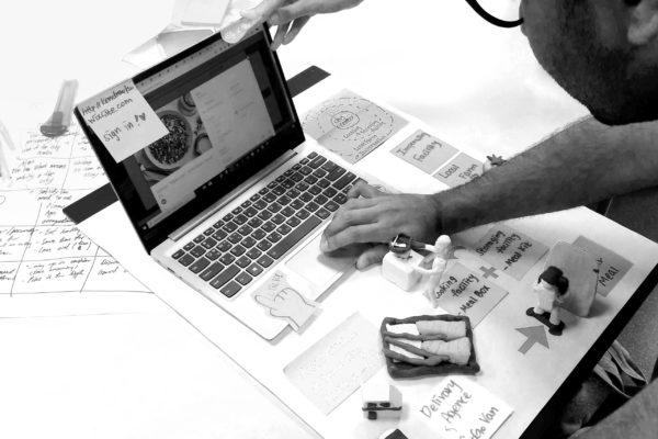 Prototype de site web
