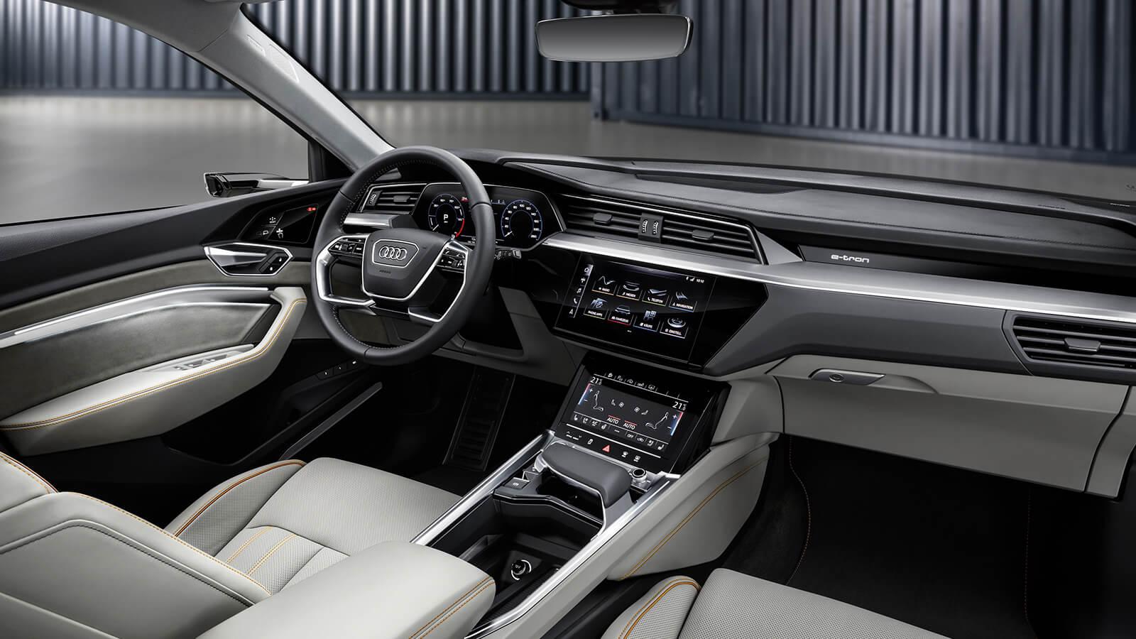 Audi baguette interior design