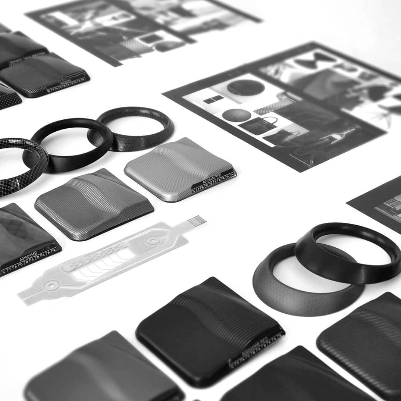 echantillons prototypes matières