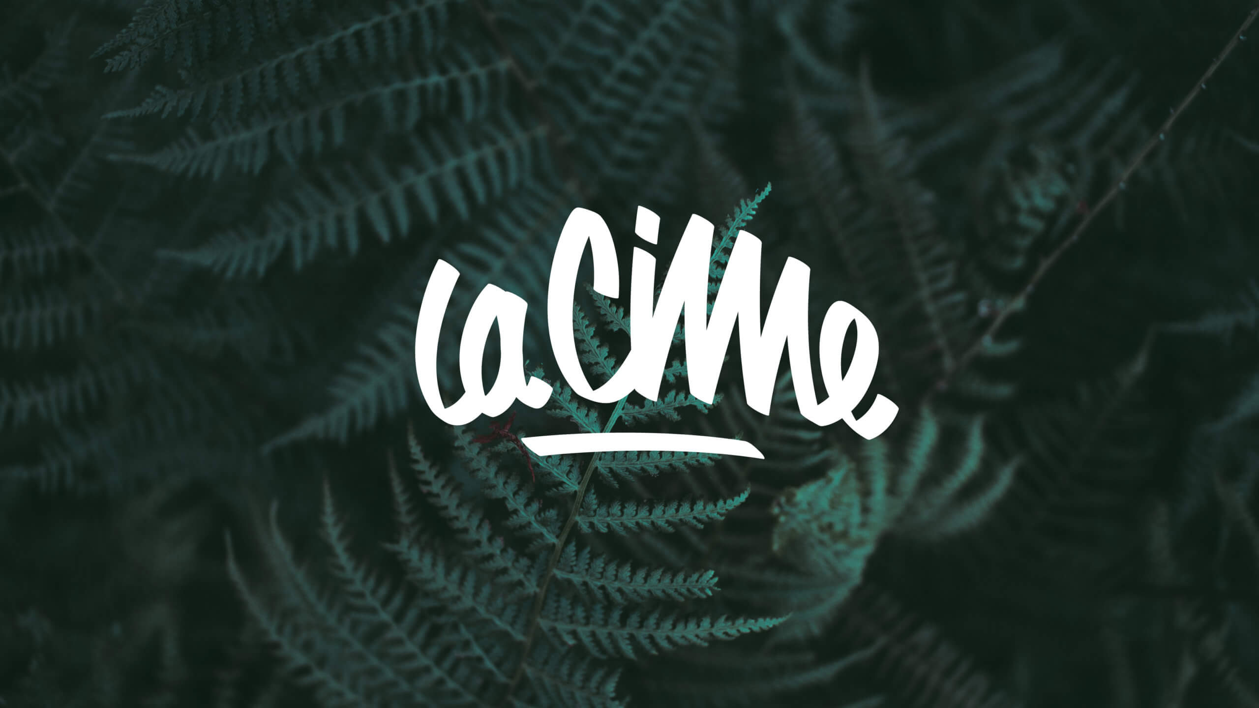 nouveau logo La Cime design