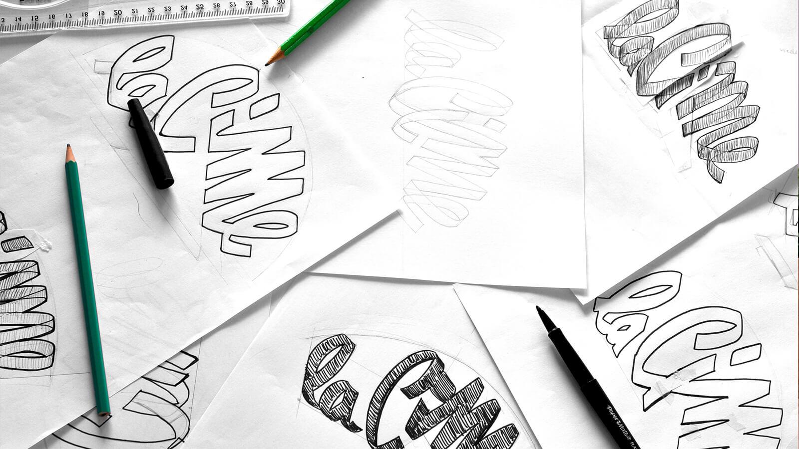 dessins de recherche logo